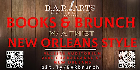 Books & Brunch with a Twist: New Orleans Style tickets