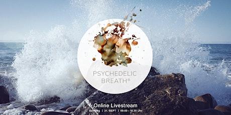 PSYCHEDELIC BREATH® – Online Livestream  (Deutsch) Tickets