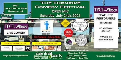 Turnpike Comedy Festival Open Mic - July 24th tickets