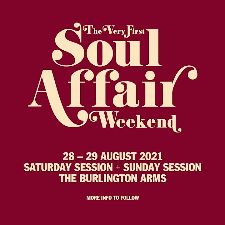 Soul Affair Weekend (Sunday) image