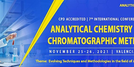 7th International Conference on Analytical Chemistry and Chromatographic Me tickets