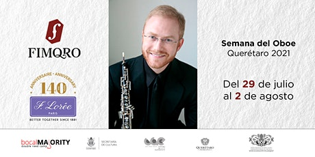 Concierto de Gala | Semana del Oboe Querétaro 2021 boletos