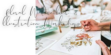 Floral Watercolour & Illustration Workshop tickets