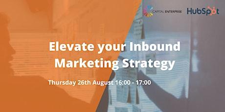 Elevate your Inbound Marketing Strategy tickets