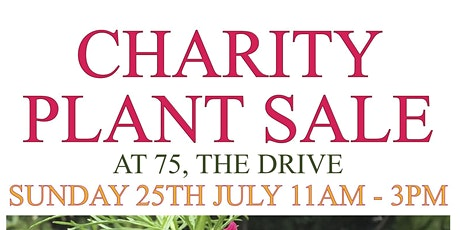 CHARITY PLANT SALE tickets