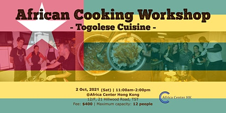 African Cooking Workshop -Togolese Cuisine- tickets