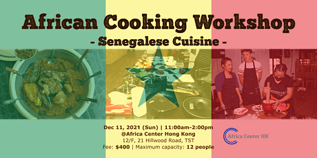 African Cooking Workshop -Senegalese Cuisine- tickets