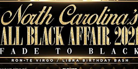 Fade to Black | 'The All Black Attire Affair 2021' tickets