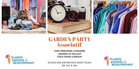 GARDEN PARTY billets