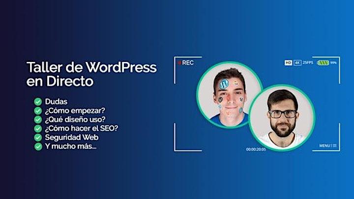 Imagen de Taller de Iniciación a WordPress GRATUITO