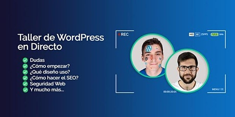 Taller de Iniciación a WordPress GRATUITO boletos