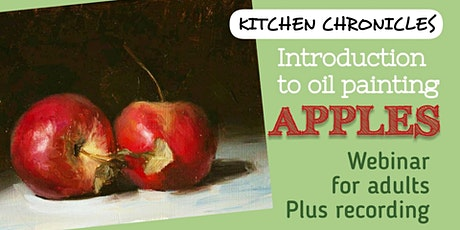 Painting Webinar for Adults - Introduction into Oil Painting tickets