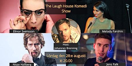 The Laugh House Ståupp Komedi 28:e augusti biljetter