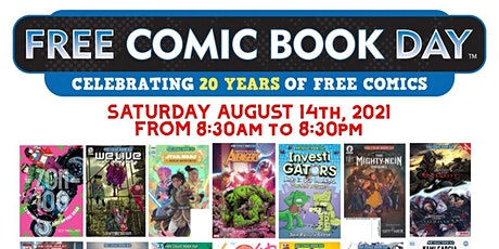 Comic Central Presents Free Comic Book Day 2021 tickets