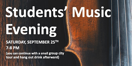 Students' Music Evening (and City 'hang out') tickets