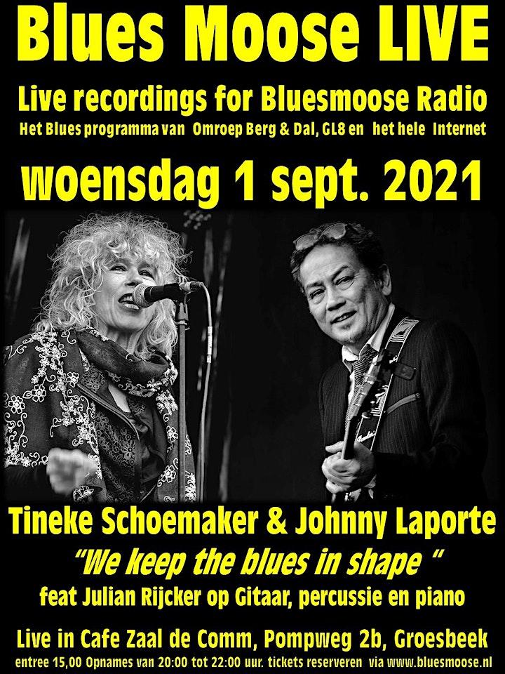 Afbeelding van Tineke Schoemaker & Johnny Laporte (15,00 euro betaal aan kassa)