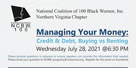 Managing Your Money: Credit & Debt, Buying vs Renting tickets