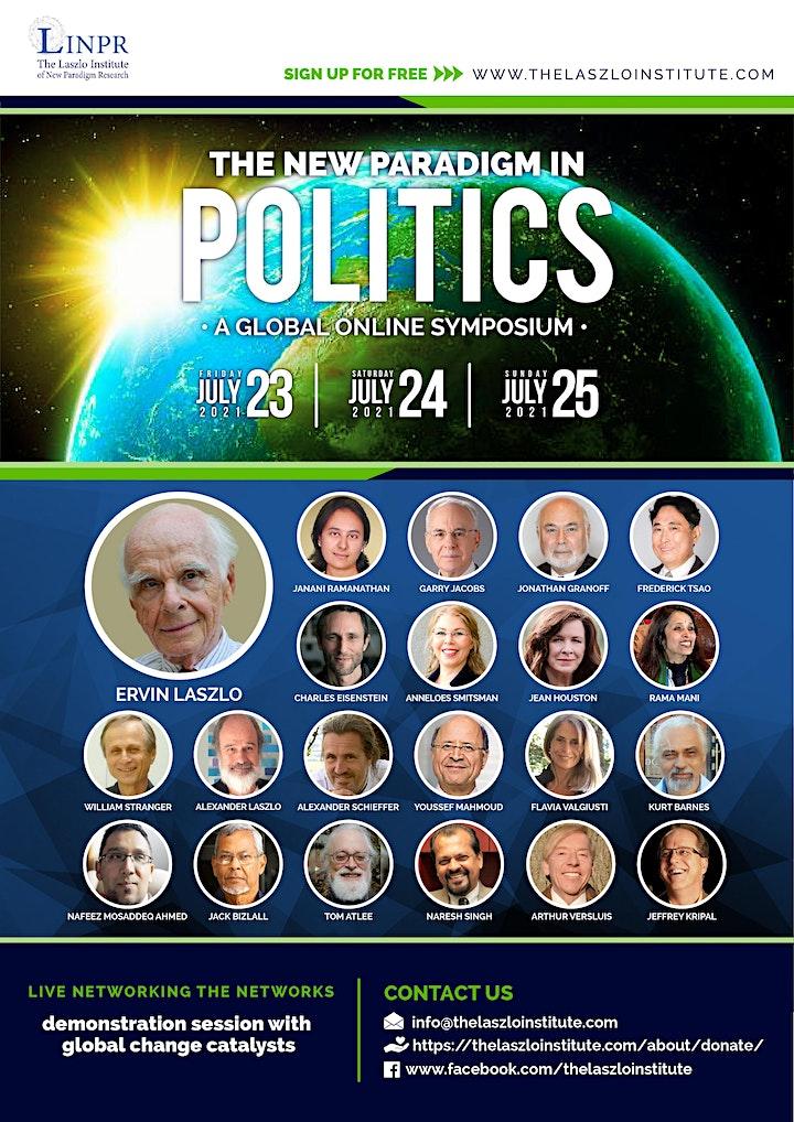 "Global Online Symposium on ""The New Paradigm in Politics"" image"