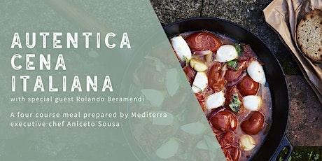 Autentica Cena Italiana with Rolando Beramendi tickets