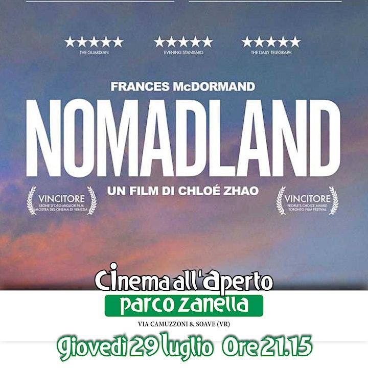 Immagine Nomadland - Cinema all'Aperto 2021 PARCO ZANELLA