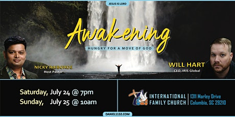 AWAKENING - Hungry for a move of God tickets
