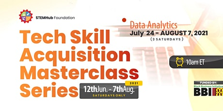 Tech MasterClass : Data Analytics biglietti