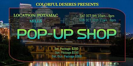 Potomac Mills Pop-Up Shop tickets