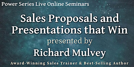 Sales Proposals and Presentations that Win tickets