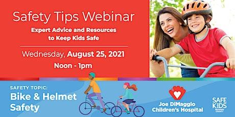 Child Safety - Bike / Helmet Safety tickets