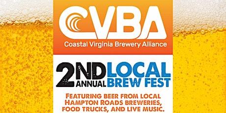 2nd Annual Coastal Virginia Brewery Alliance Beer Festival tickets