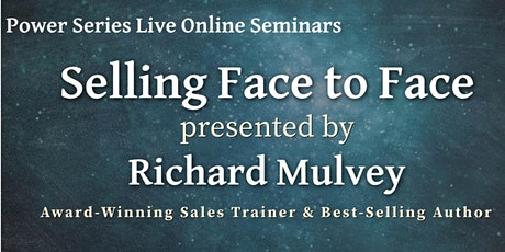 Selling Face to Face - Online or on the road tickets