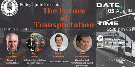 The Future of Transportation tickets