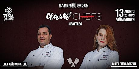 Clash of Chefs #battle4 Viña Garden ingressos