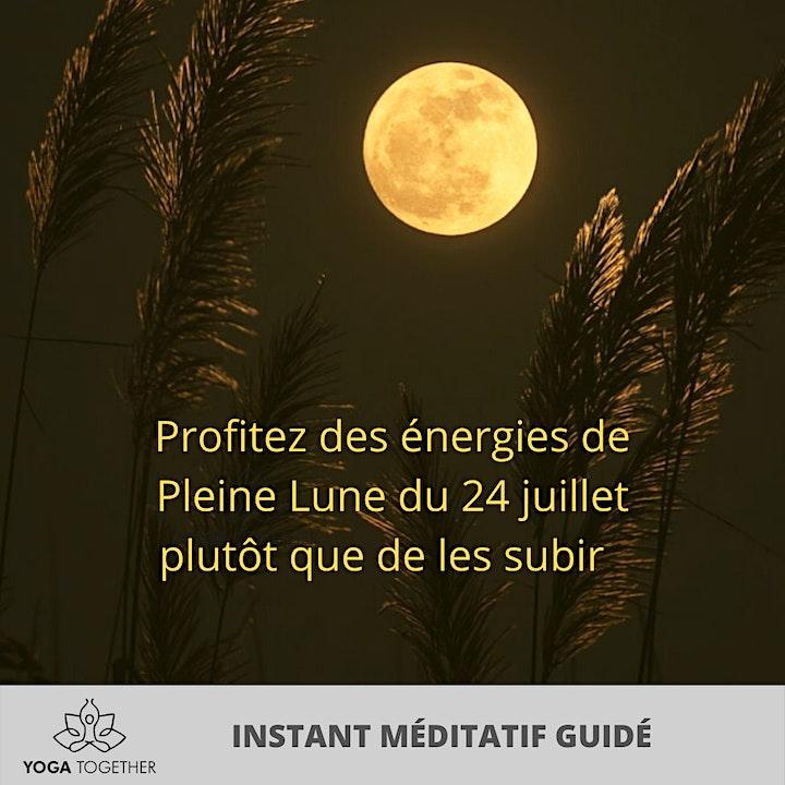 Image pour Méditation Guidée Pleine Lune de Juillet