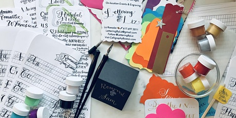 SALEM, MA:  Calligraphy Night with Lettering By Liz at Creative Harbor tickets