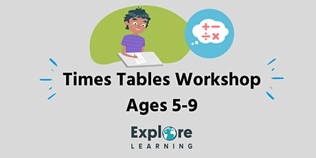 Free Times Tables Workshop (All  Up to 12) Ages 5-9 at John Lewis tickets