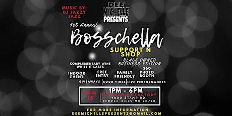 Bosschella Support N Shop tickets