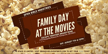 OBM Family Day At The Movies tickets