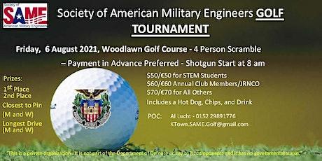 2021 SAME Golf Tournament billets