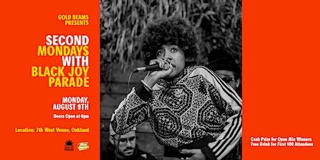 Gold Beams Presents: A Special Edition Second Mondays w. Black Joy Parade! tickets