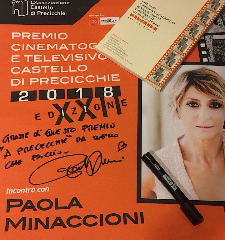 Immagine Precicchie Cinema 25 Omaggio a Paola Minaccioni ospite  XXII ed. del Premio