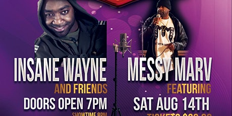 Comedy with Insane Wayne and Friends at Port City tickets