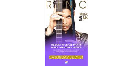 PRINCE - Welcome 2 America | Album release party by the Bay tickets
