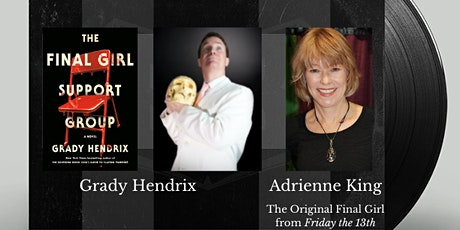Authors on Tap:  Grady Hendrix and Adrienne King tickets