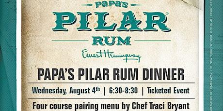 PAPA'S PILAR RUM DINNER tickets