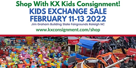 KX Kids Consignment Sale February 2022 - FREE admission! tickets