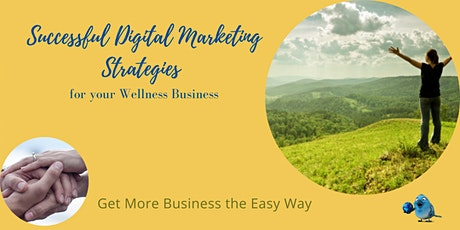 Successful Digital Marketing Strategies for your Wellness business tickets