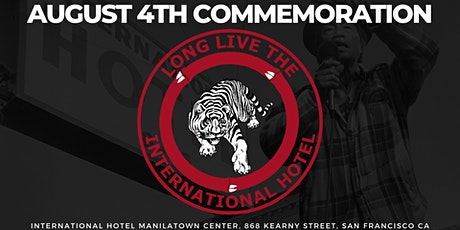 August 4th Commemoration tickets