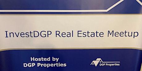InvestDGP Charlotte Real Estate Meetup tickets