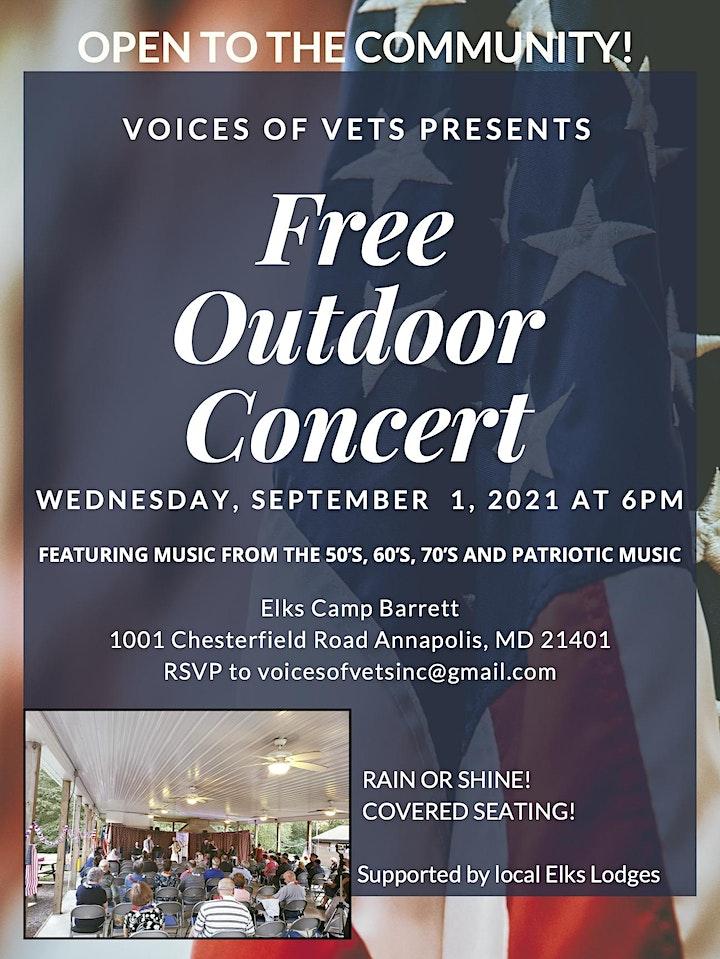 Free Outdoor Concert image